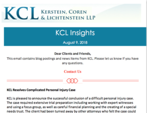 KCL Insights August 9, 2018